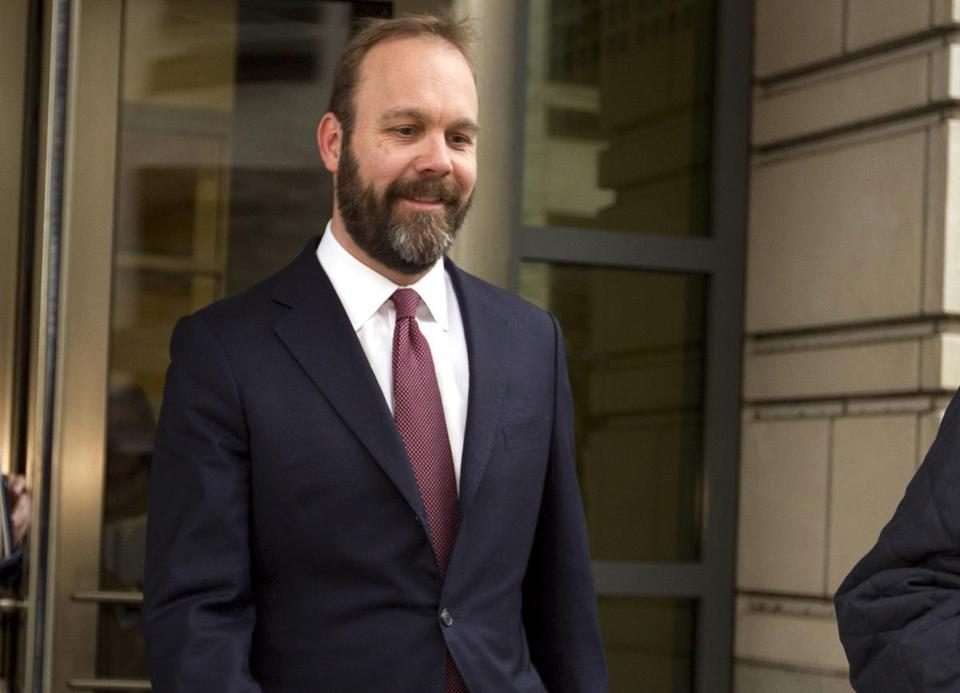 Rick Gates in federal court in Washington in February.